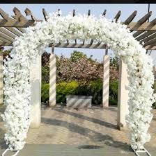 wedding arch garland upscale wedding centerpieces metal wedding arch door hanging