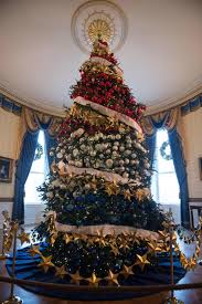 Interior Photos Of Homes Decorated For Christmas 8 Years Of The Obama Family U0027s White House Christmases Vogue