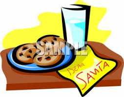 christmas cookies and milk clip art 57