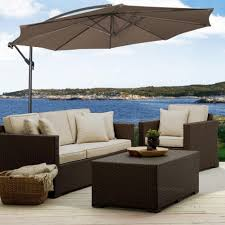 Big Patio Umbrellas by Decorating Interesting Swing Sofa Chairs With Costco Patio