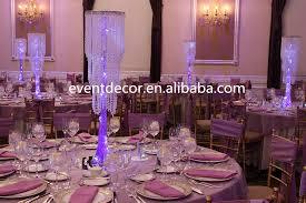 whole chic modern waterfall crystal chandelier crystal wedding centerpiece