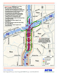 Map Of North Dallas by Dallas North Tollway Closed This Weekend For Bridge Demolition