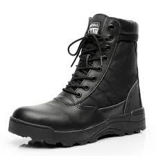 39 45 black brown winter military army boots mens brand desert