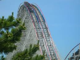 Six Flags In Usa American Eagle Roller Coaster Wikipedia