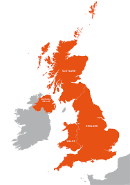 Map Of The British Isles Maps Of The British Isles Royalty Free Editable Vector Maps