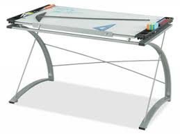 glass drafting table glass table top desk glass top drafting