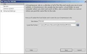 configure xp dreamweaver project1 assignment web site instructions