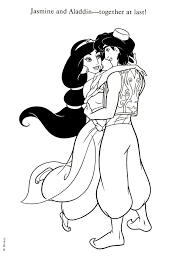 aladdin colorong page disney coloring pages pinterest