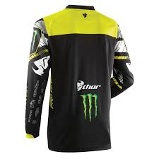 signed motocross jerseys thor phase sp14 pro circuit monster energy mx motocross jersey