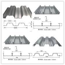 china corrugated metal floor decking sheet china metal decking