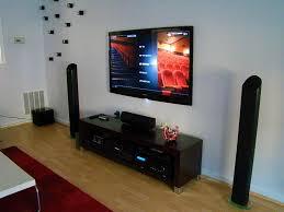 tv setup in living room living room ideas