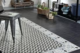 sol vinyl pour cuisine sol vinyle pour cuisine sol vinyle imitation carrelage noir et blanc