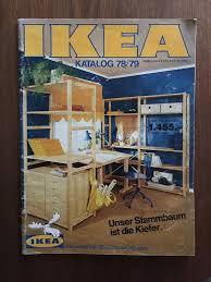 ikea katalog från 1978 språk tyska på tradera com priskuranter och