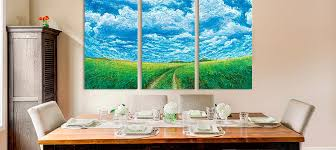Painting For Dining Room Wall Art Outstanding Canvas Panel Art Canvas Panel Art 3 Piece