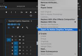 how to use the new essential graphics panel in premiere pro cc pond5