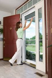 Andersen Retractable Insect Screen by Exterior Emco Storm Door Emco 3000 Series Storm Door Andersen