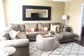 fireplace porcelain sectional in small room done separate option