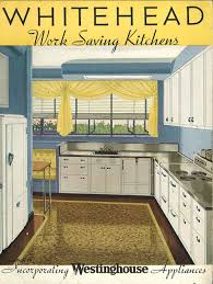 Retro Style Kitchen Cabinets Whitehead Steel Kitchen Cabinets 20 Page Catalog From 1937
