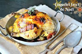 cuisiner un coq au four coquelet farci de noël cuit en cocotte au four coq farci