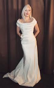 vivienne westwood wedding dress gaga poses in white vivienne westwood dress should this be