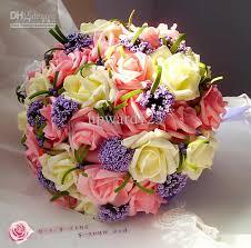 wedding flowers gift wedding bouquet artificial flowers bridal throw bouquet
