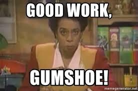 Carmen Meme - good work gumshoe carmen sandiego chief meme generator