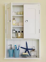 marvelous bathroom wall cabinet with shelves using white shaker