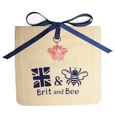 delta gamma ornament sorority logo brit and bee