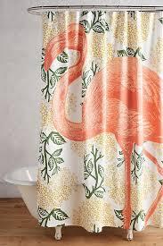 Fashion Shower Curtains Flamingo Shower Curtain Anthropologie