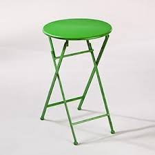 small outdoor accent tables green metal folding accent table outdoor and patio furniture
