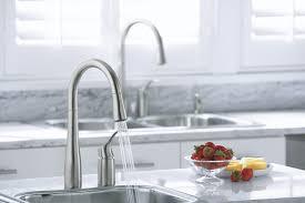 kohler k 647 vs simplice pull down kitchen sink faucet vibrant