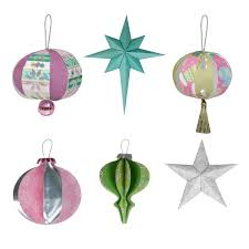 3d ornaments digital set