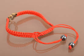 red bracelet thread images Madeheart gt beautiful thin handmade designer woven silk thread jpg