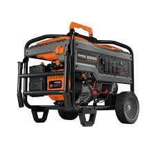 generac 17 500 watt gasoline powered electric start portable