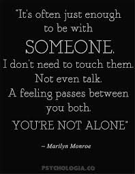 marilyn quotes on and relationships psychologia