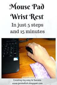 make your own mouse pad diy how to make your own mouse pad wrist