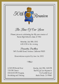 ideas for 50th class reunions class reunion invitation ideas amazing ebookzdb
