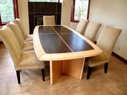 custom wood furniture portfolio galbraith builders custom built dining table bocote and maple