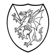 b u0026w clipart dragon pencil and in color b u0026w clipart dragon