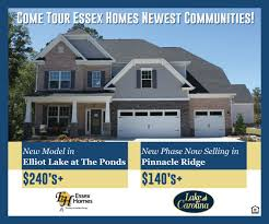 Essex Homes Floor Plans by Lake Carolina Lakeside Recreation And Resort Located Columbia