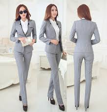 new grey 2015 autumn winter business suits jackets