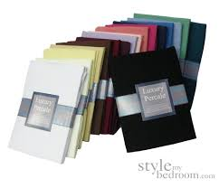Percale Sheets Definition Quality Percale Fitted Sheets In 23 Colours U0026 4 Sizes 180 Thread