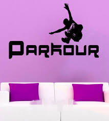 high quality teen decor promotion shop for high quality free shipping parkour wall sticker street sport vinyl decals cool teen room interior design art murals school dorm bedroom decor