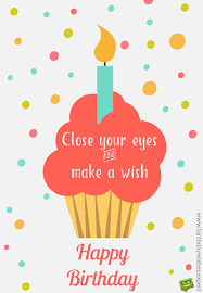 halloween birthday greetings happy birthday close your eyes and make a wish image with ice