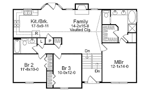 split level floor plan cozy split level house plan 2298sl architectural designs