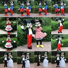 Halloween Mascot Costumes Cheap Fursuit Mascot Sale Mickey Minnie Mouse Mascot Cartoon