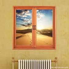 simulation chambre 3d 3d paroi tridimensionnelle autocollants fenêtre reste fenêtre