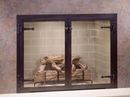 fireplace glass doors fireplace doors for modern homes u2013 bedroom