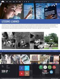 oklahoma city national memorial creative direction and web design
