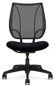 white office chair armless humanscale liberty chair without arms office chairs